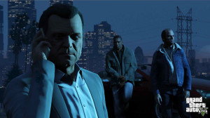 Michael Franklin and Trevor in GTA V