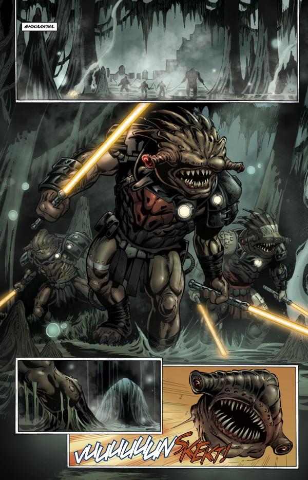 Star Wars: Dawn of the Jedi - Force War #1 - Hulking Reviewer