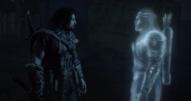Talion and Celebrimbor face to face