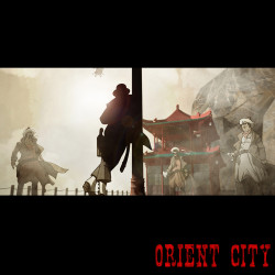 First Look: Orient City: Ronin & The Princess