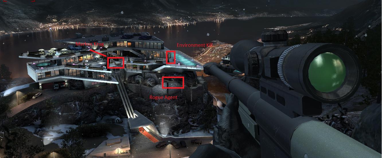 hitman 2016 how to get sniper offline
