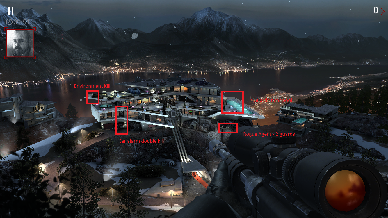 Guide to Hitman: Sniper Chapter 2: Missions 6-10 - Hulking