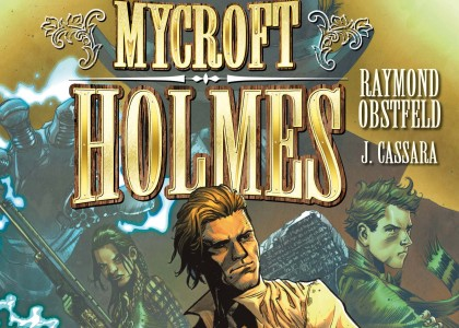 Mycroft Holmes and the Apocalypse Handbook #1 Preview
