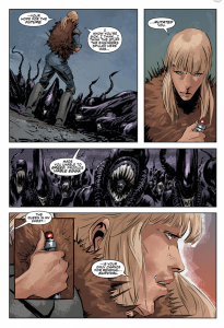 Aliens vs Predator: Life and Death #4