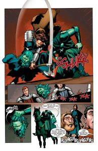 Immortal Brothers: The Tale of the Green Knight #1