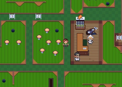 Unlocking mini-golf in Golf Story