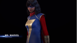 Avengers Game Ms Marvel Reveal